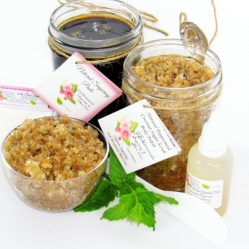 JBHomemade Natural Peppermint Coconut Sugar Scrub Sugaring Paste Bundle
