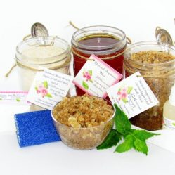 JBHomemade Natural Peppermint Coconut Sugar Scrub Sugaring Wax Full Bundle