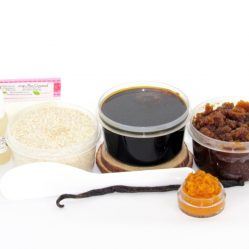 JBHomemade Natural Pumpkin Vanilla Brown Sugar Scrub Sugaring Paste Starter Kit