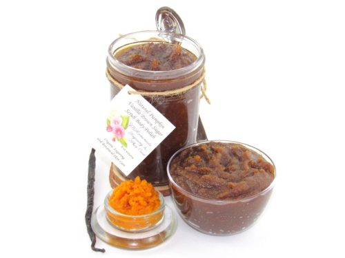 JBHomemade Pumpkin Sugar Scrub 8 oz 2018