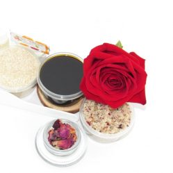 JBHomemade Natural Red Rose Sugar Scrub Sugaring Paste Starter Kit