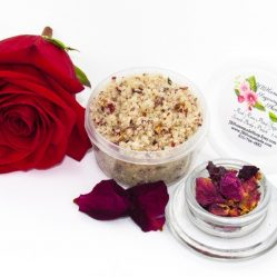 JBHomemade Red Rose Sugar Scrub 2 oz 2018