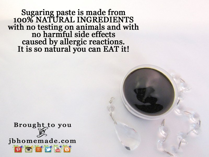 with no testing on animals and with no harmful side effects caused by allergic reactions. It is so natural you can EAT it!
