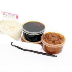 JBHomemade Natural Vanilla Brown Sugar Scrub Sugaring Paste Starter Kit